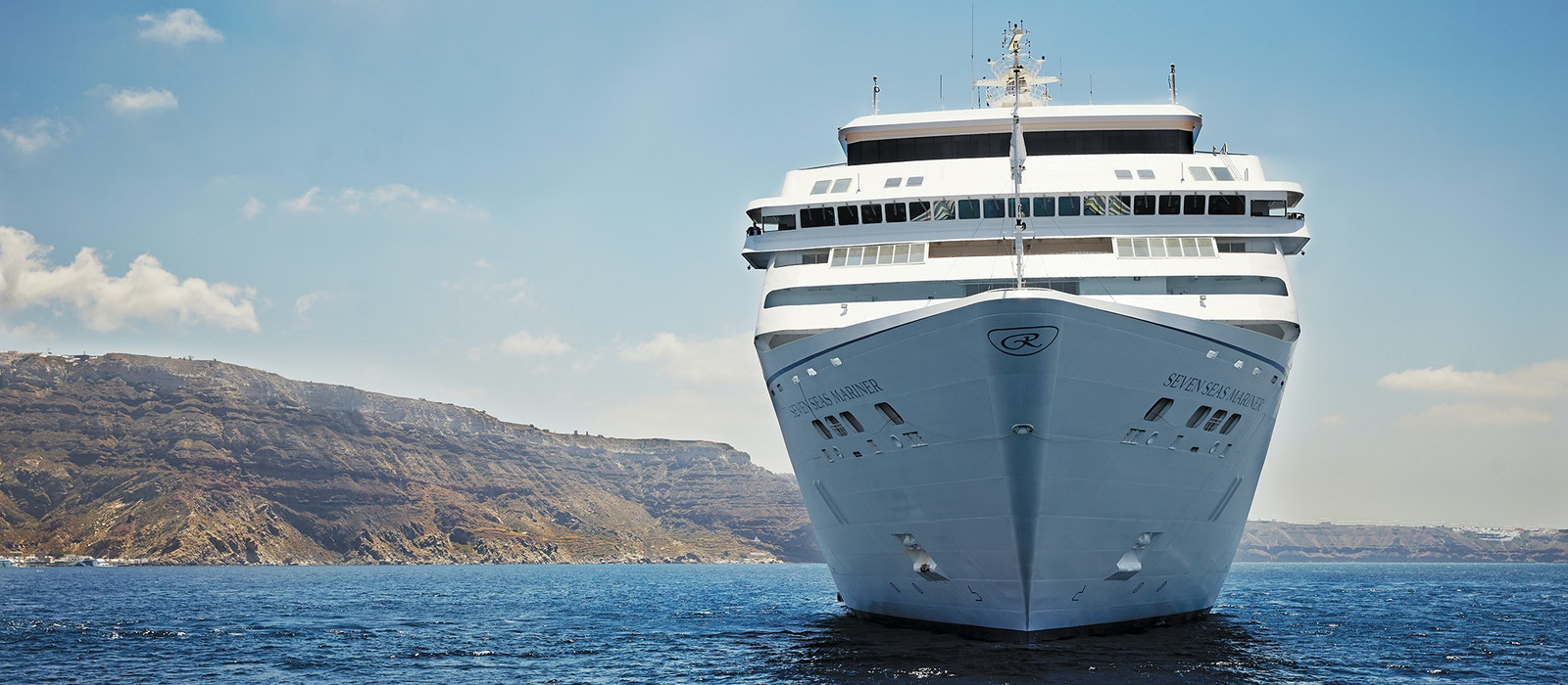 The all-suite Seven Seas Mariner will take you everywhere from Greece's medieval City of Rhodesto Australia's Great Barrier Reef.