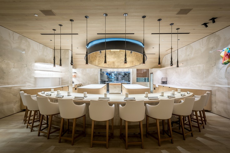 Somni, a 10-seat chef's table inside The Bazaar by José Andrés at the SLS Hotel Beverly Hills, earned two Michelin stars in the first California state guide.