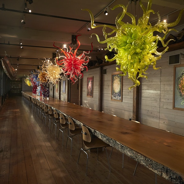 Dale Chihuly's Seattle Hot Shop Is Opening for Rare Tours