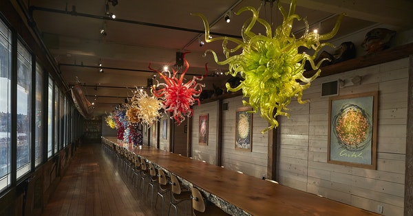 How to Visit Dale Chihuly's Boathouse Hot Shop