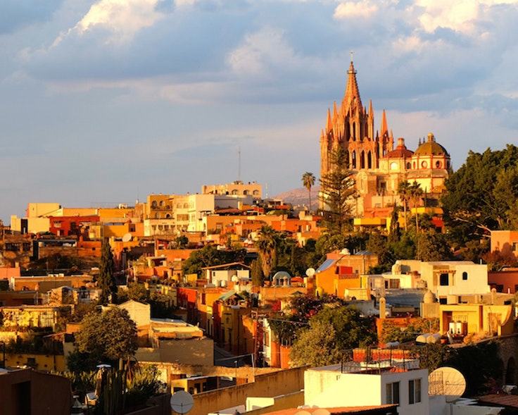 San Miguel from the rooftops