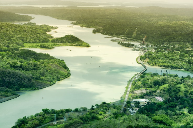 A big draw for any Panama cruise is experiencing the passage through the Panama Canal.