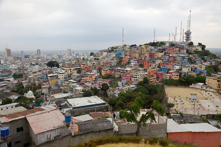 Guayaquil, one of the coastal cities that has been devastated by the earthquake.
