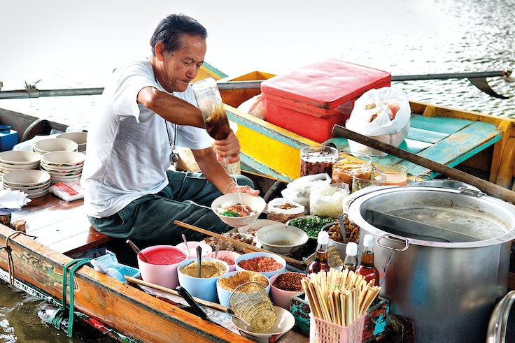 On one of Intrepid Travel's new vegan food tours, travelers get the chance to experience the flavors of Thailand without worrying about hidden fish sauce or shrimp paste.