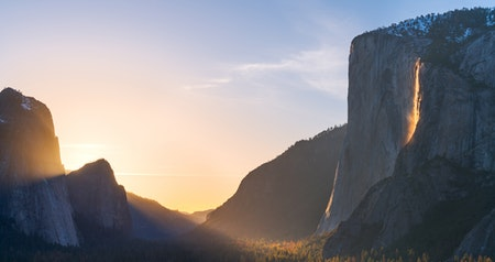 """Yosemite's """"Firefall"""" Is Back—Here's How to See the Natural Phenomenon"""