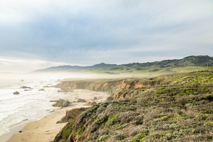 Expect views like this on a road trip along California's Highway 1.