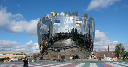 Huge Mirrored Depot Will Open Dutch Museum's Storage to Public