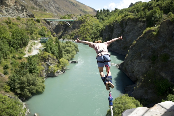 Voters age 35 and younger can enter to win a Contiki trip to New Zealand (pictured), Egypt, or Southeast Asia, among other global treks.