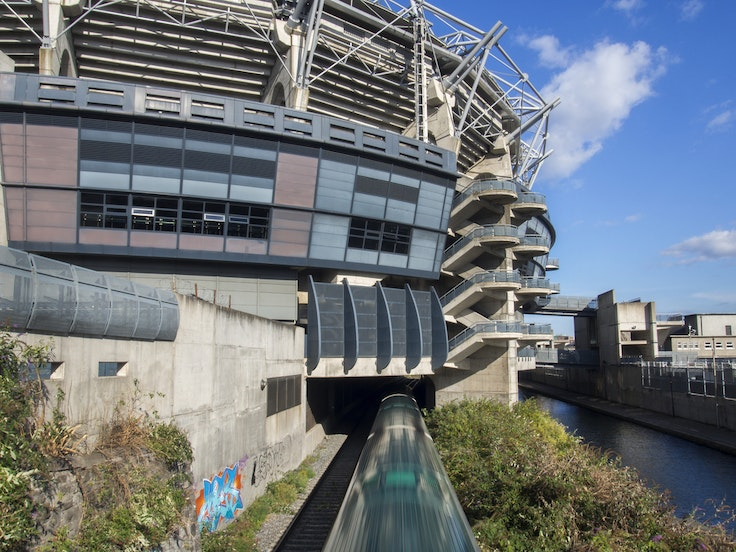 Dublin's Croke Park Stadium hosts many of Ireland's big Gaelic football matches. Now the sport has made its way to Asia.