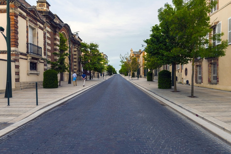 The Avenue de Champagne in Épernay, France, hides billions of dollars' worth of bottles (and history) underneath it.