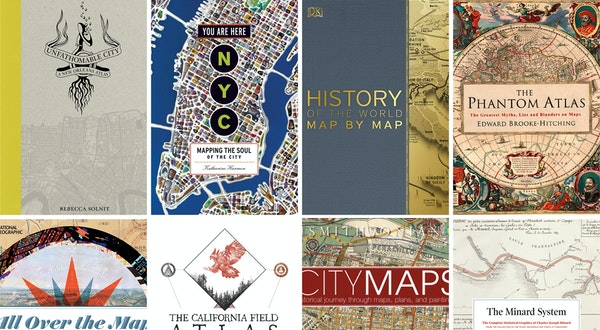 8 Essential Books for Map Fans