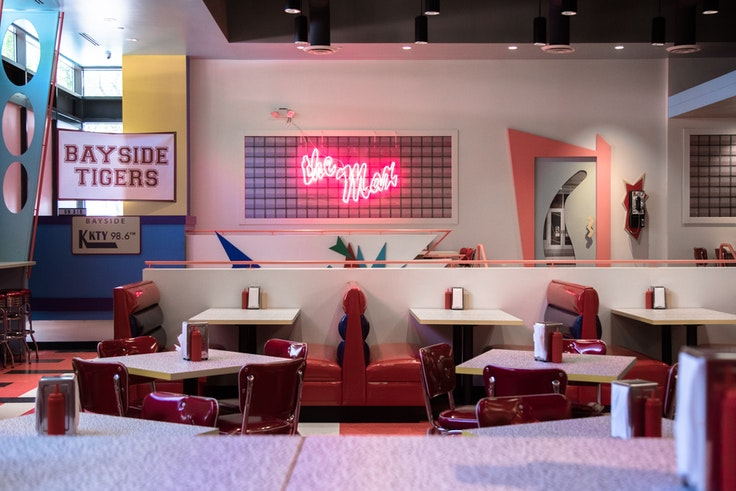 """Saved by the Max is a pop-up """"immersive dining"""" establishment that recreates the diner featured in the '90s TV sitcom """"Saved by the Bell."""""""