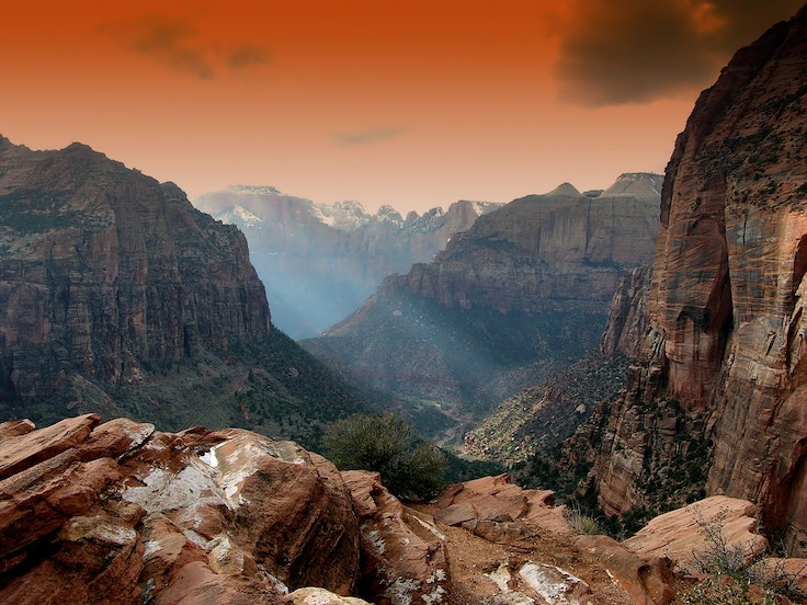 Zion National Park, a stop on one of Intrepid's North American tours