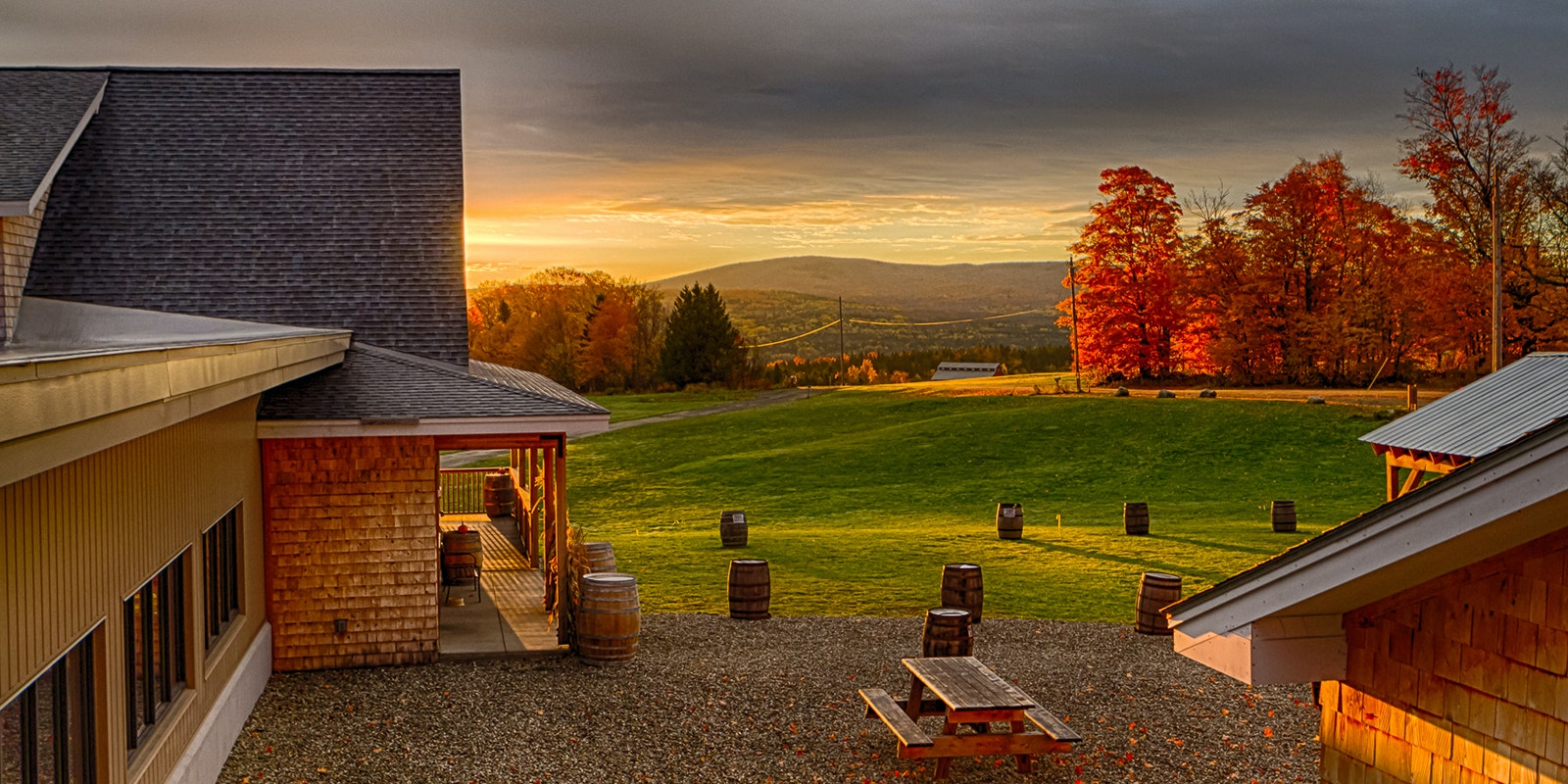 Pair your brew with a view at Hill Farmstead Brewery, in Vermont's remote Northeast Kingdom.