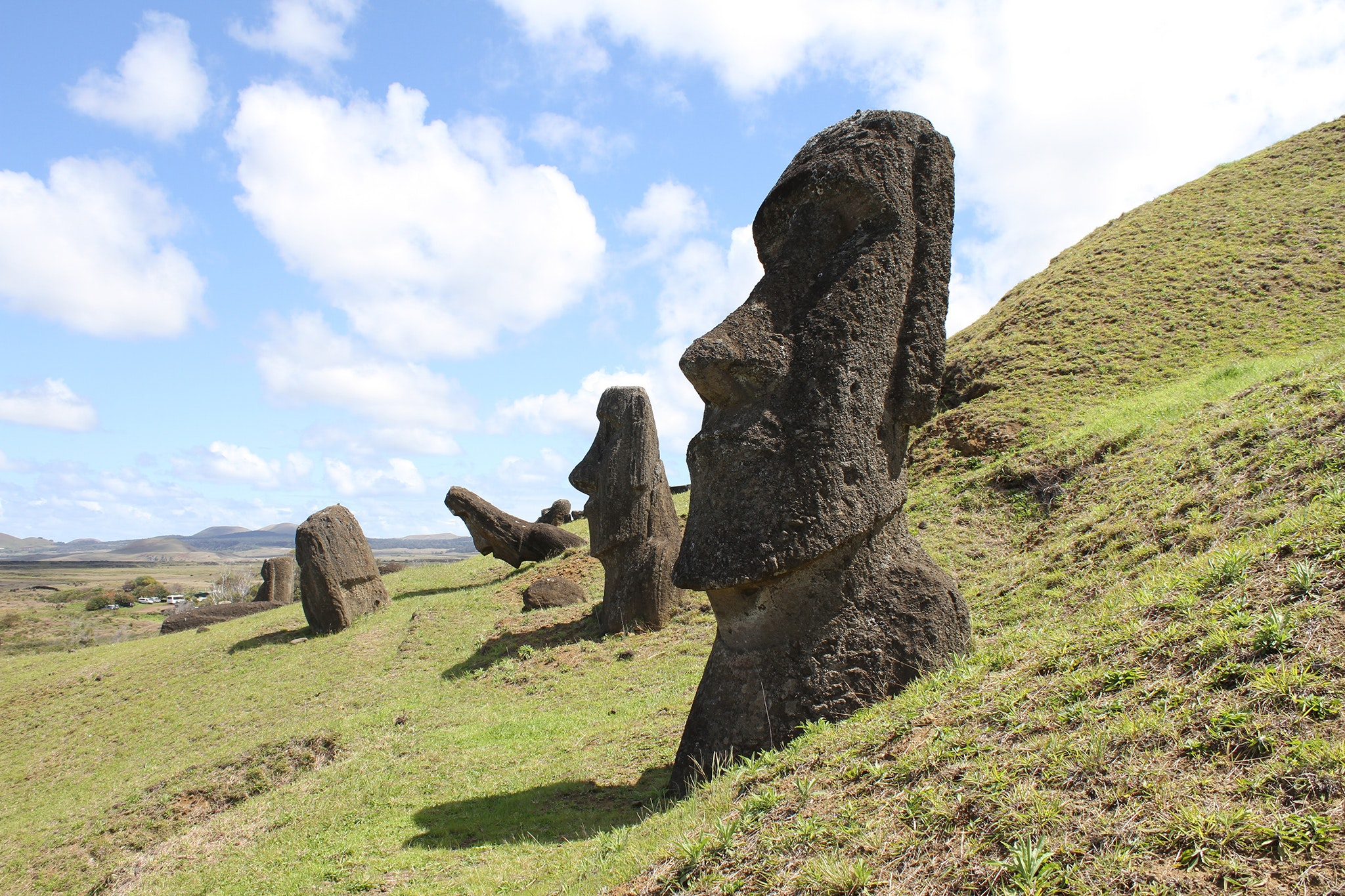 Dutch explorers gave Easter Island its name in 1722 after spotting the landmass on Easter Sunday. The island's indigenous name is Rapa Nui.