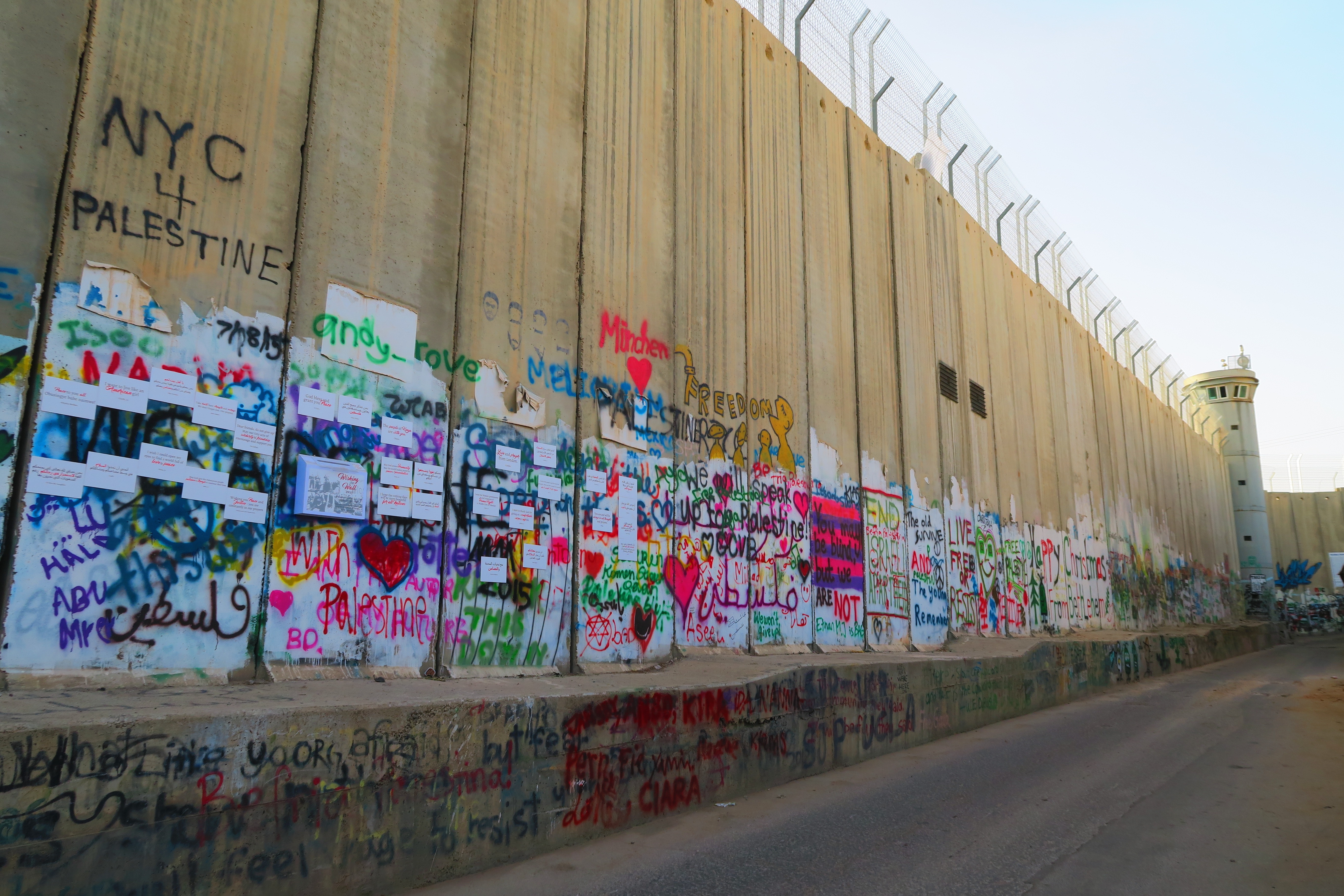 West Bank Wall in Bethlehem