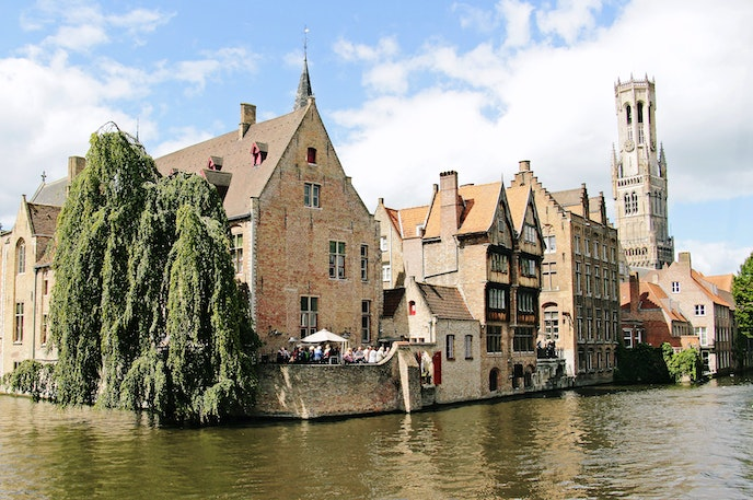 Bruges is the capital of Belgium's West Flanders province and known for its picturesque canals and medieval architecture.