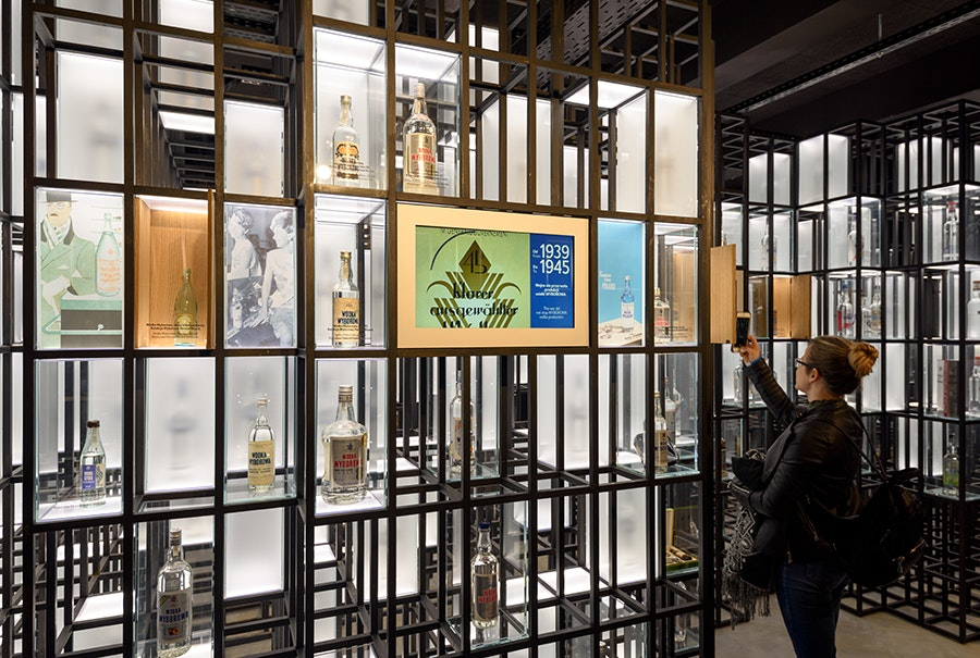 The new Polish Vodka Museum offers tastings of potato-, wheat-, and rye-based vodkas.