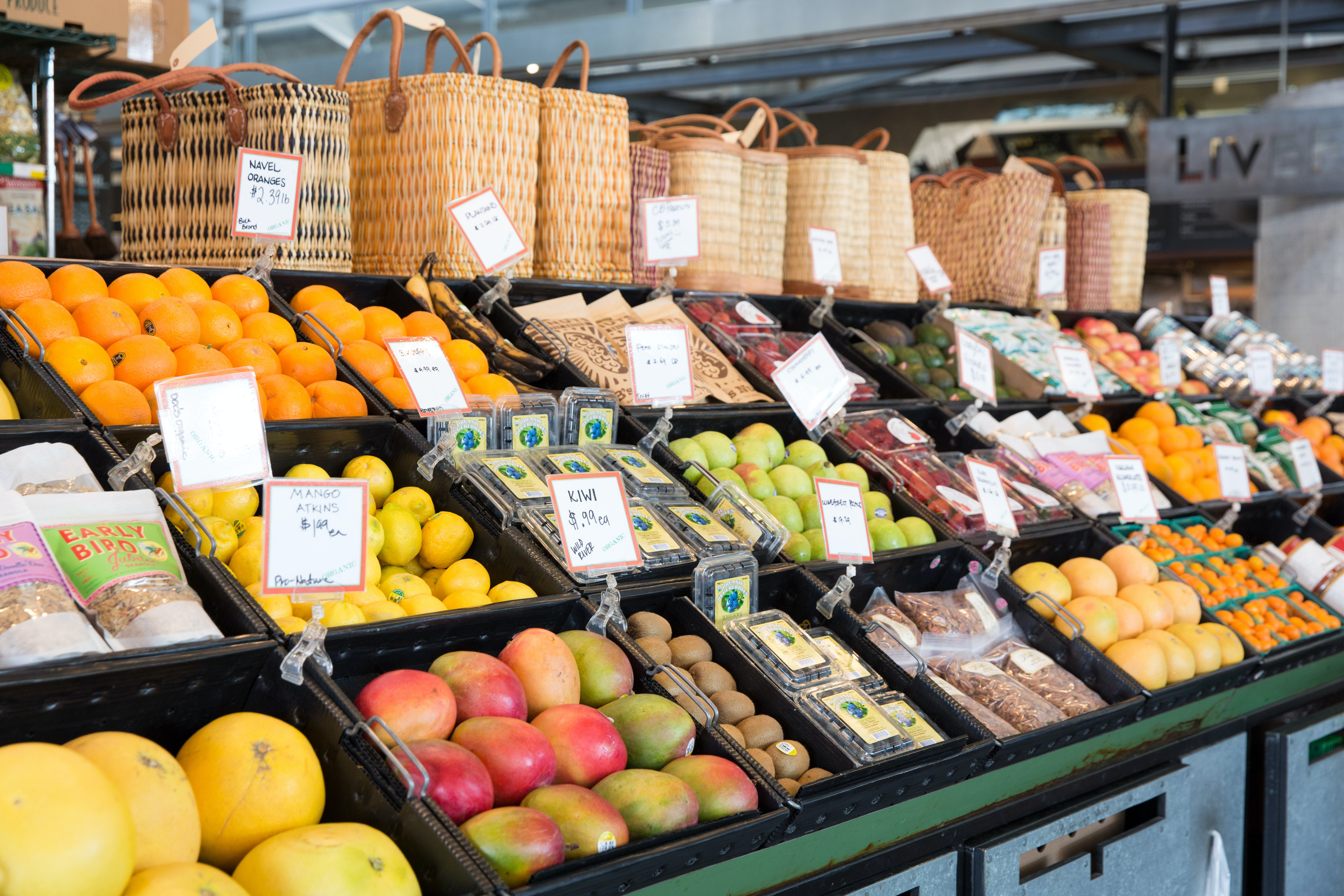 Oxbow Public Market in downtown Napa offers plenty of local products that showcase the area's bounty.