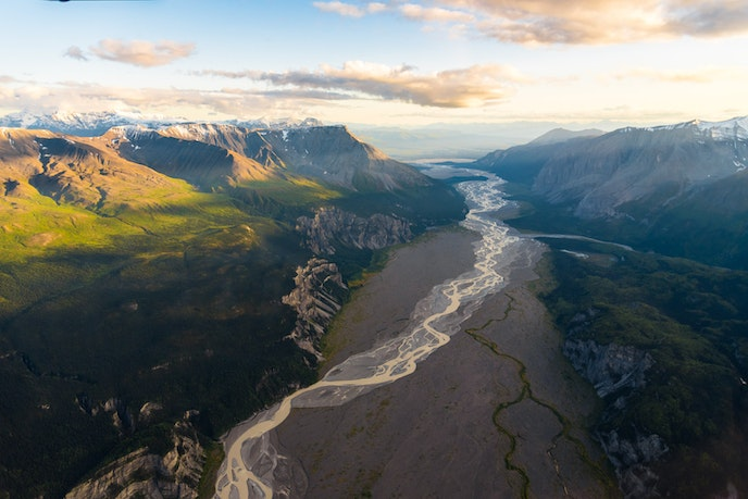Wrangell Mountain Air offers bush flights to the very remote McCarthy-Kennicott.