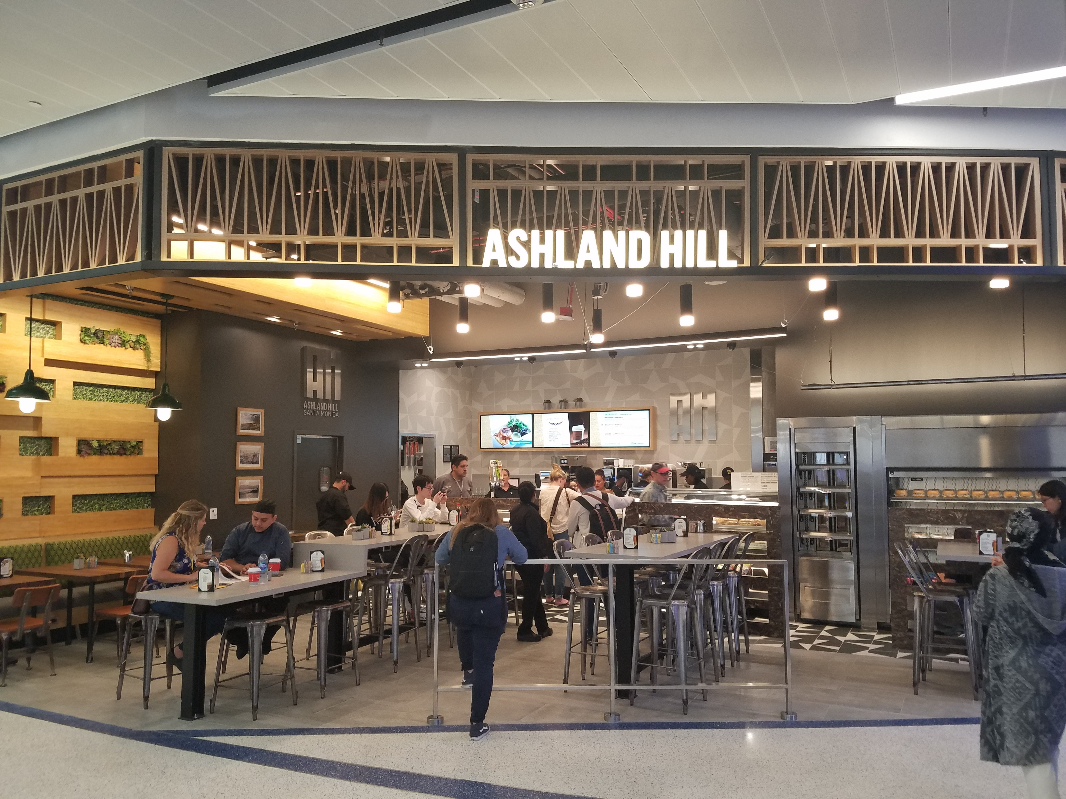 Ashland Hill in Termianl 7 of the Los Angeles International Airport