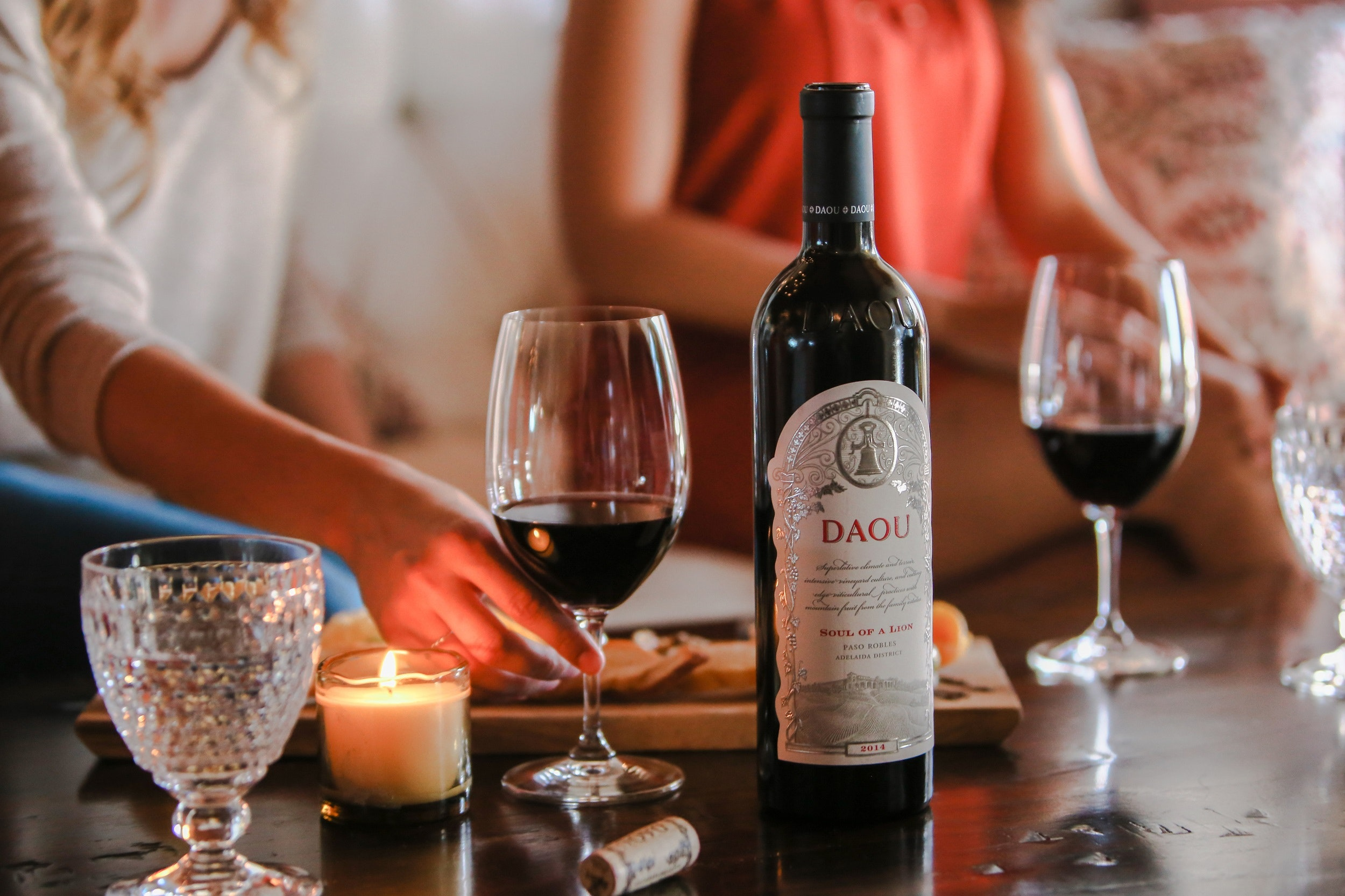 DAOU's lavish Spanish-style tasting room pairs pours of quality Bordeaux grapes with sweeping hilltop views.