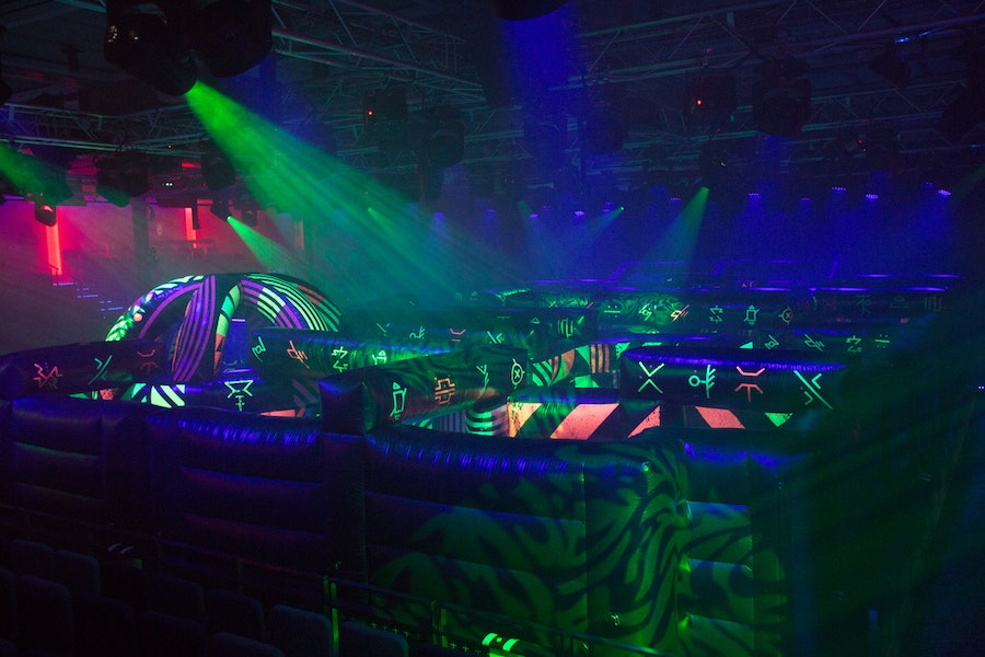 """The impressive laser tag course on Royal Caribbean's """"Symphony of the Seas"""""""