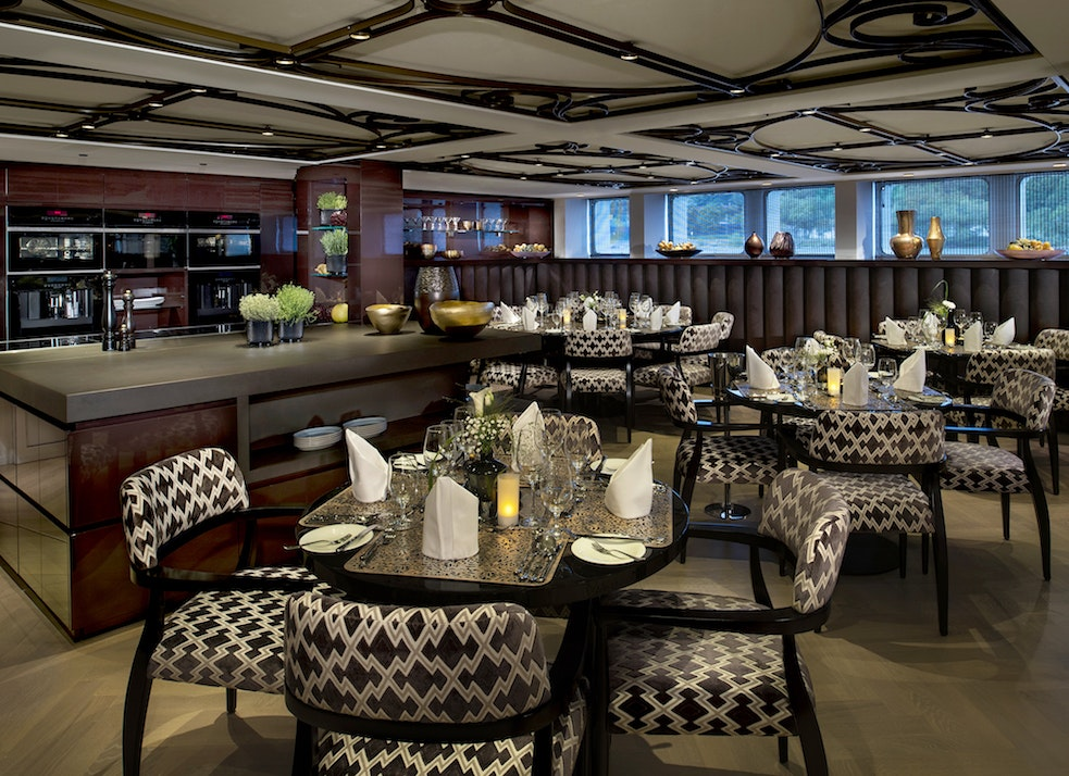 The Chef's Table restaurant serves a tasting menu dinner in a more intimate setting.