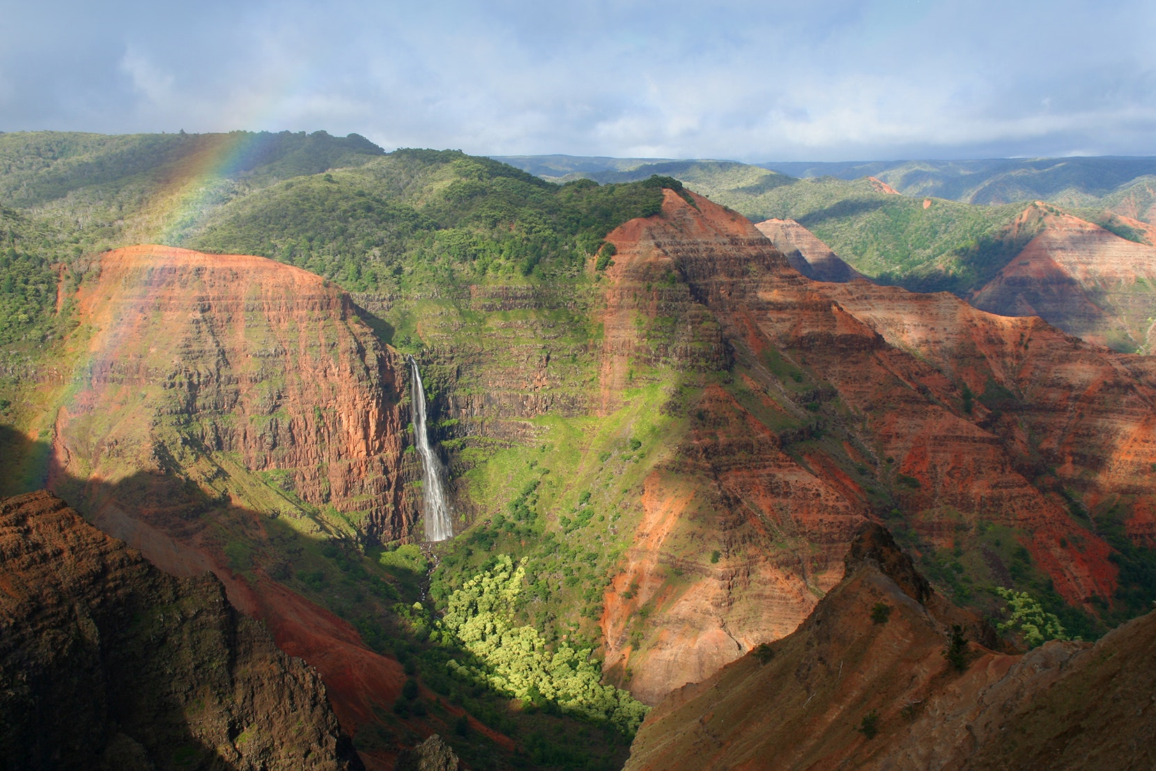 """On a cruise to Kauai, check out the """"Grand Canyon of the Pacific"""" at the 2,857-foot-deep Waimea Canyon."""