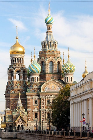 An early trip to St. Petersburg, Russia sparked Loyd's passion for travel