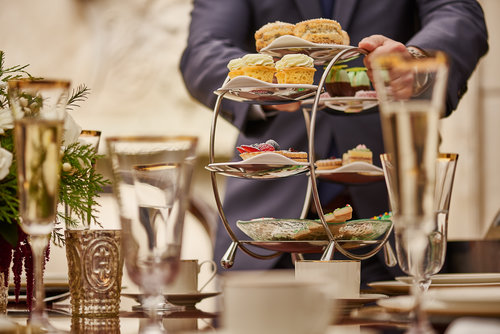 Holiday tea in Chicago, with special vintage tea blends, is a nice way to warm up.