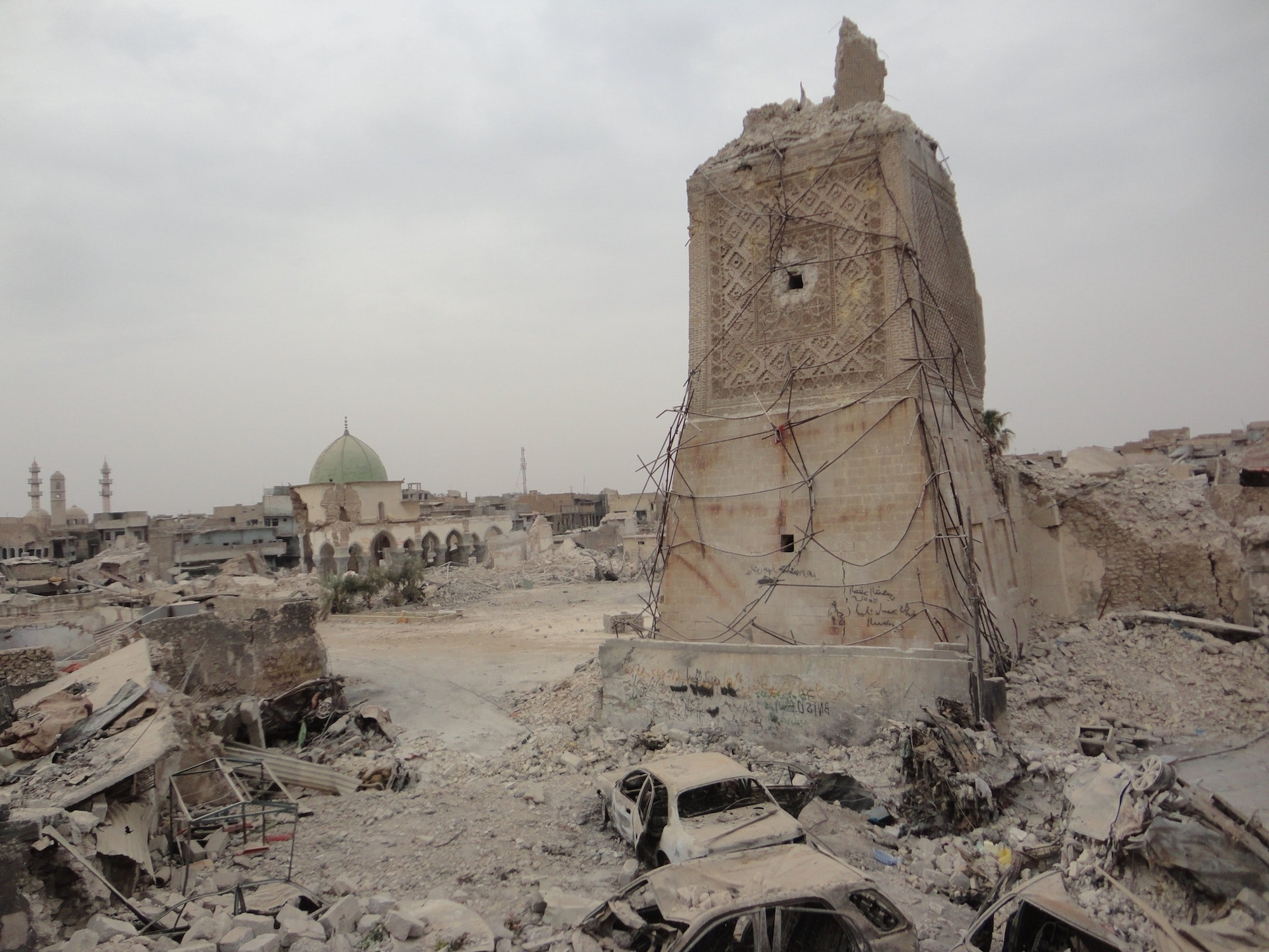 Many of Iraq's iconic ancient sites were deliberately destroyed.