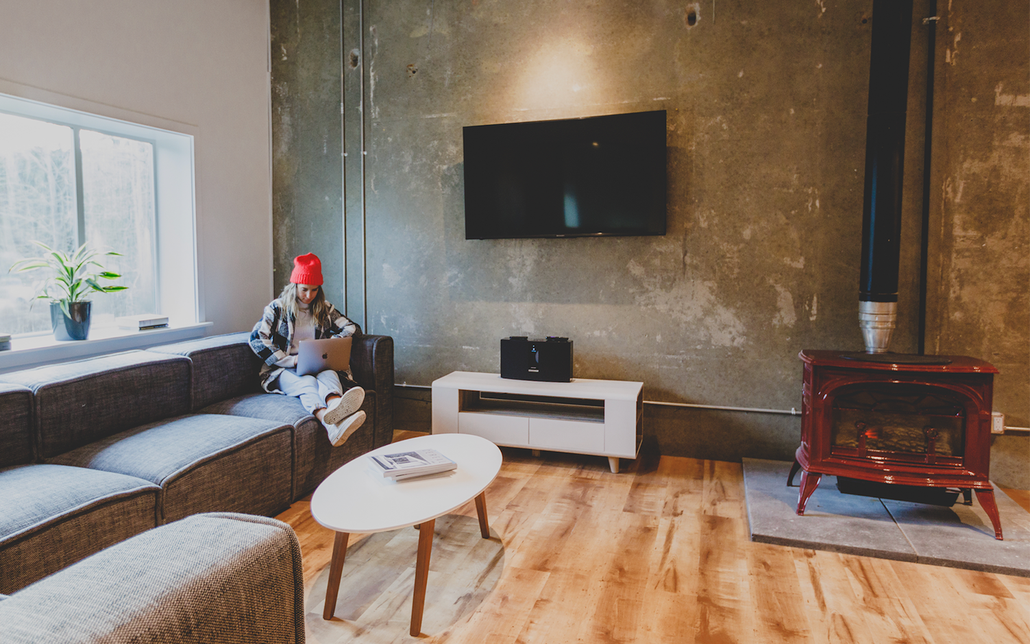 Space is a design-forward coworking spot in Whistler's Function Junction.
