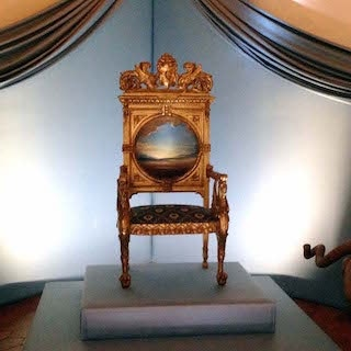 Oh the things you could write from this throne
