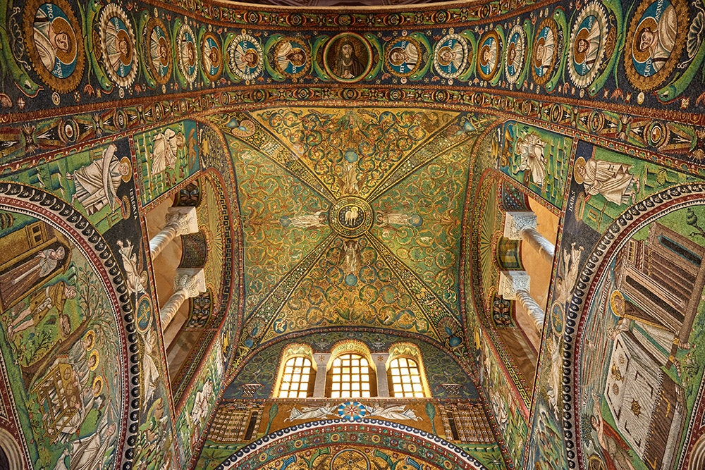 Forget St. Mark's in Venice. The Basilica of San Vitale in Ravenna is home to some of the best Byzantine mosaics outside of Istanbul.