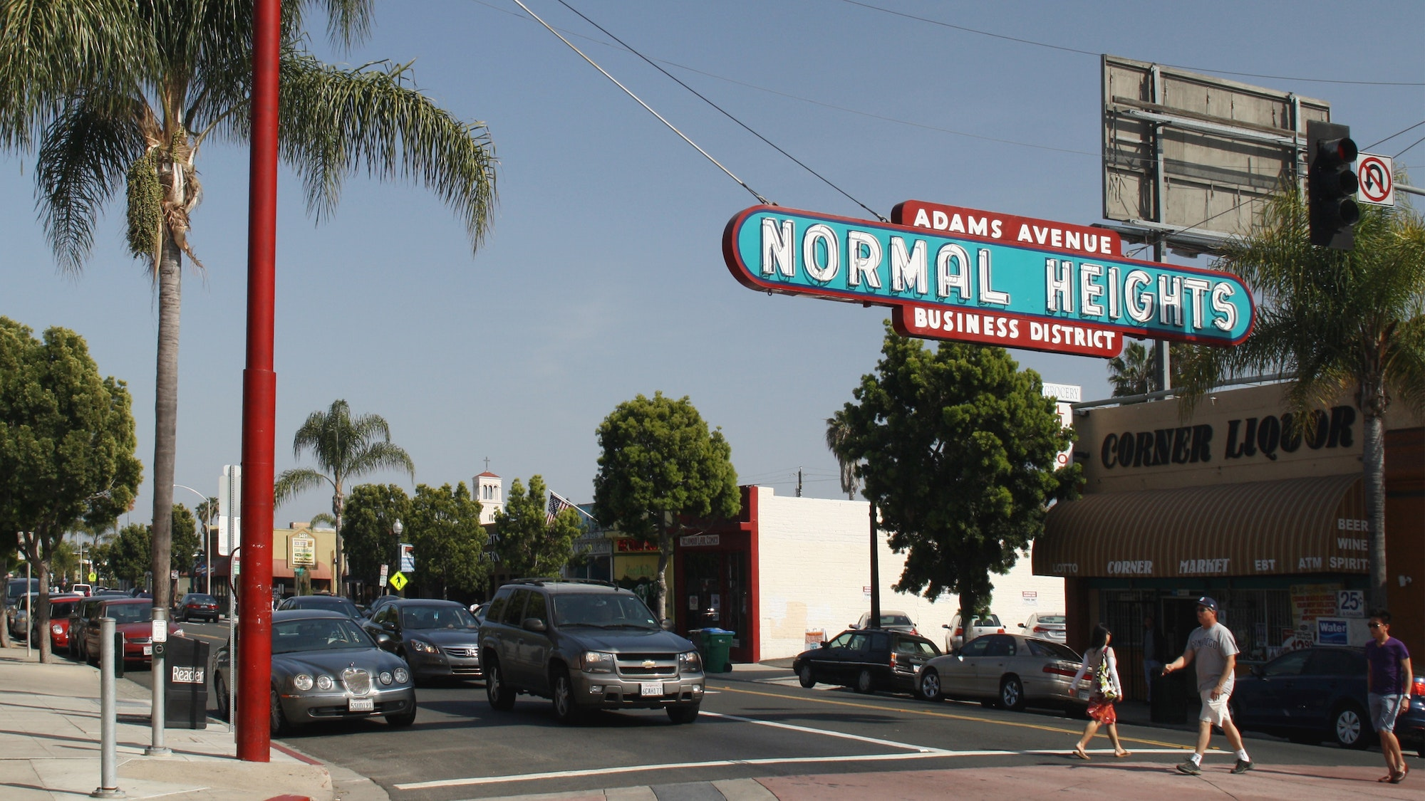 "Normal Heights in San Diego is sometimes jokingly referred to as ""Abnormal Heights."""