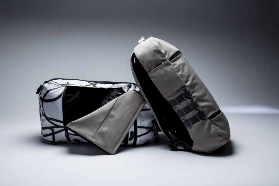 """8Hz Backpack from """"The Saber Collection,"""" $198"""