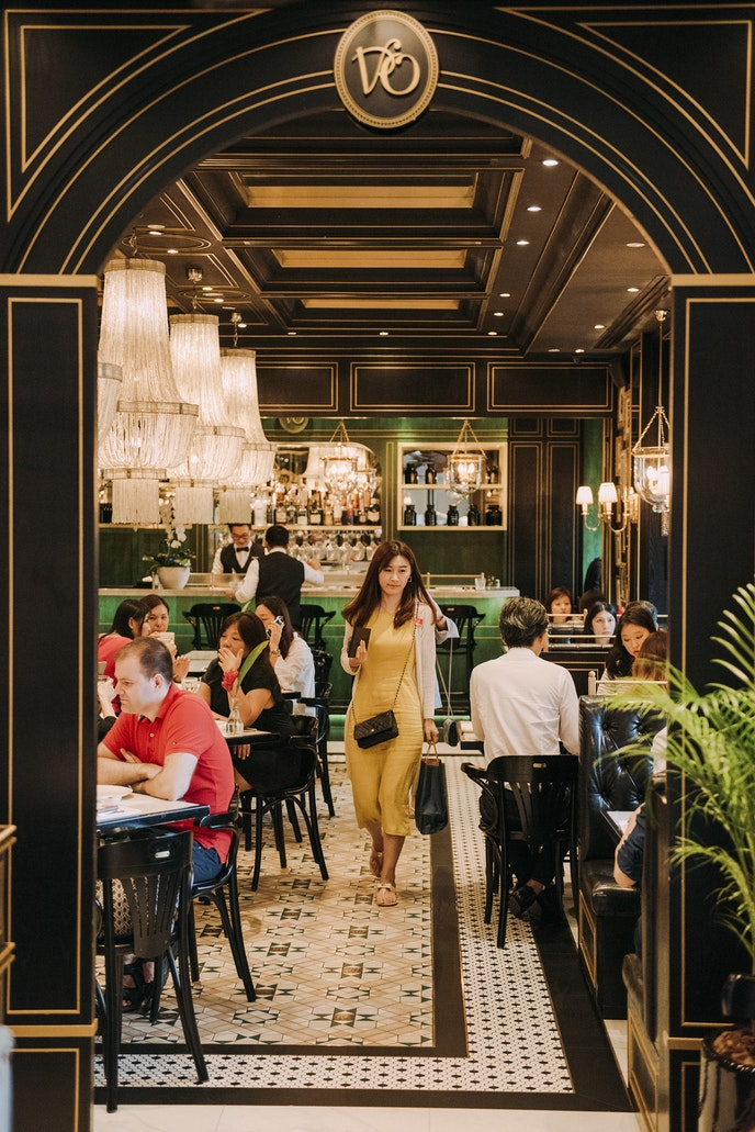 Travelers can try laksa in a variety of settings, including the upscale National Kitchen by Violet Oon.