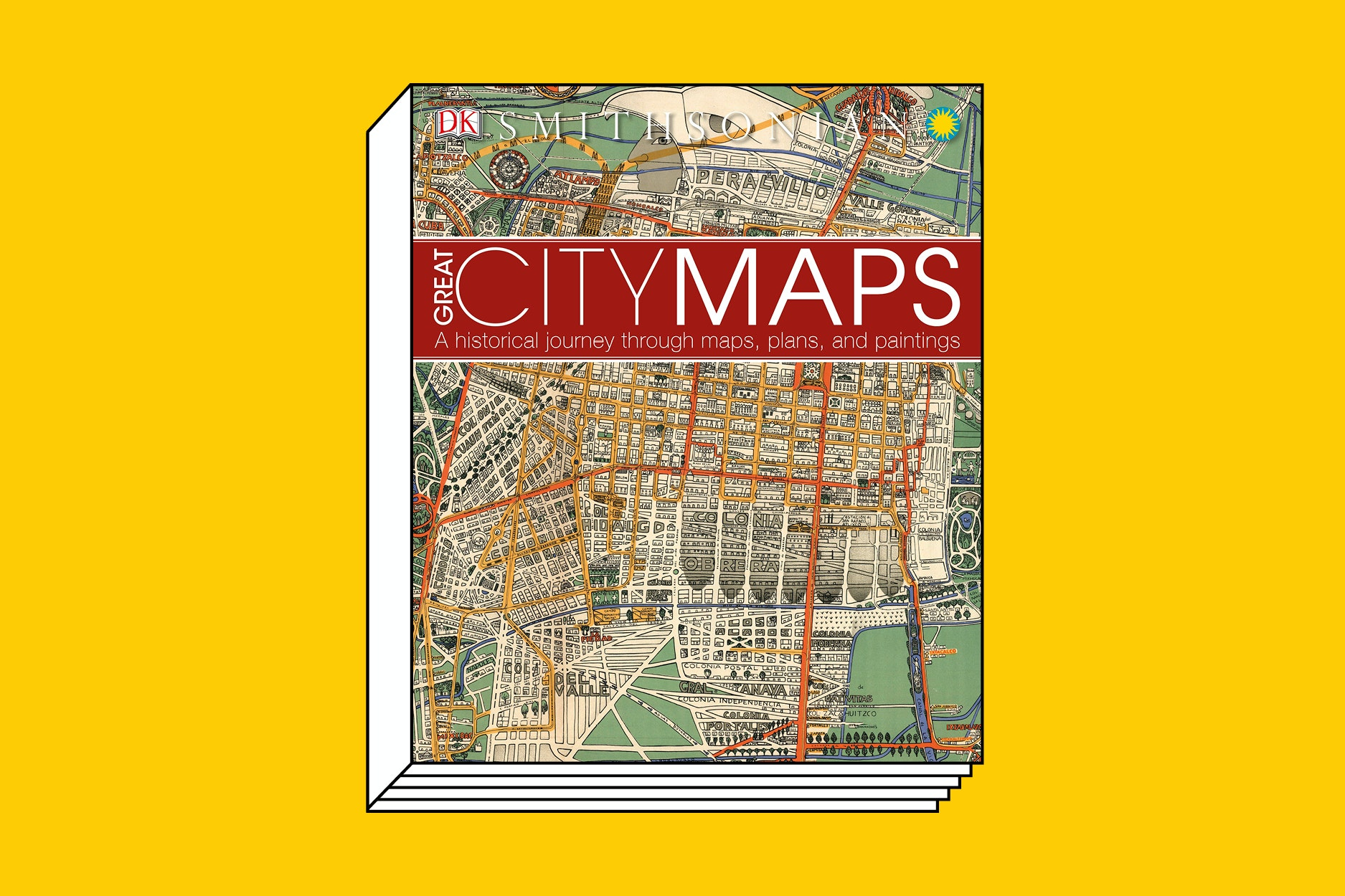 "Publisher DK's knack for visuals is again on display with ""Great City Maps."""