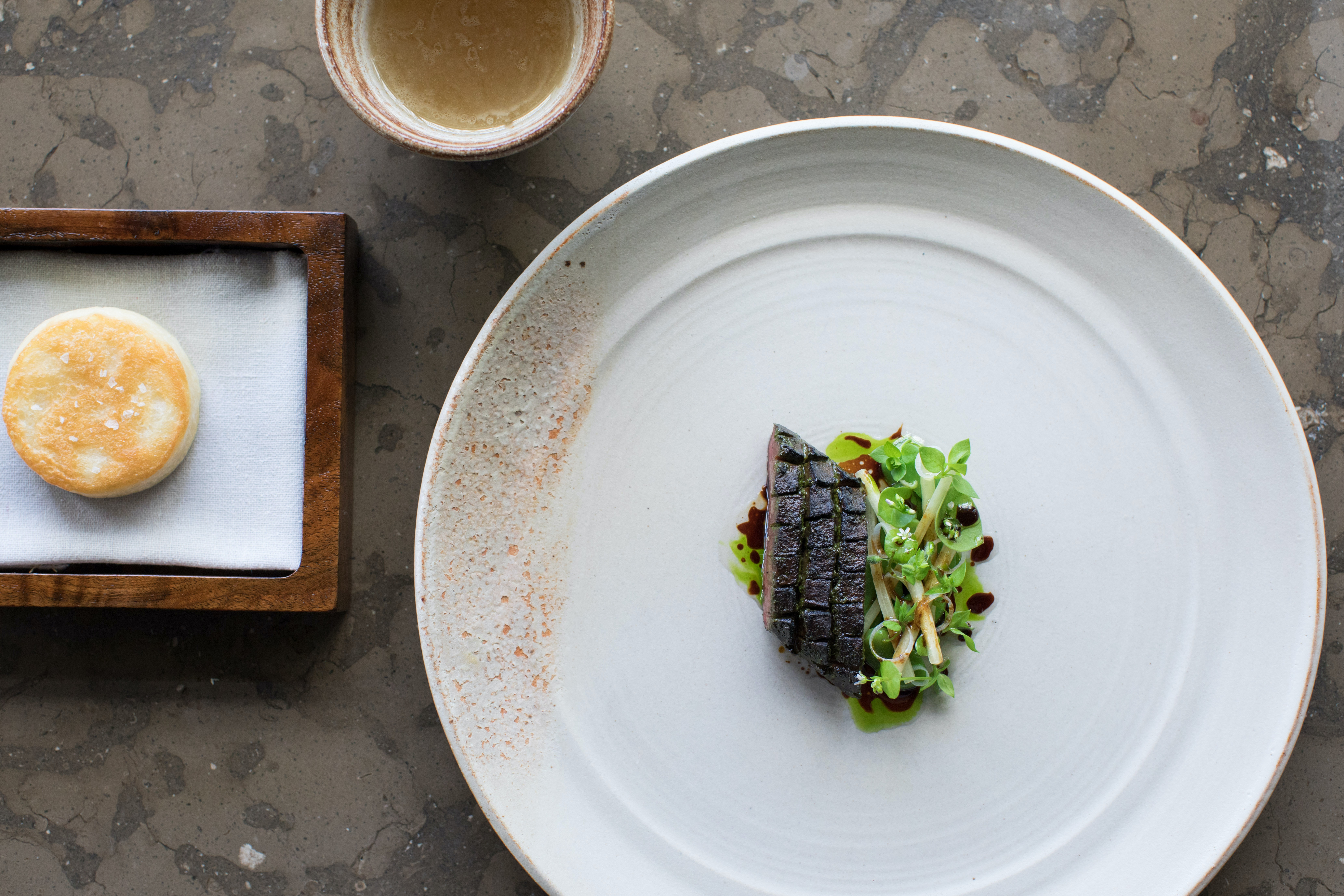 The Restaurant at Meadowood is one of Napa Valley's three-starred Michelin restaurants.