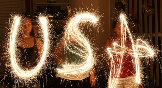 Have fun with a sparkler (and keep all your fingers intact!)