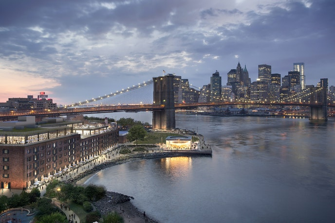 When it opens, the Time Out Market New York will take over 21,000 square feet on the Brooklyn waterfront.