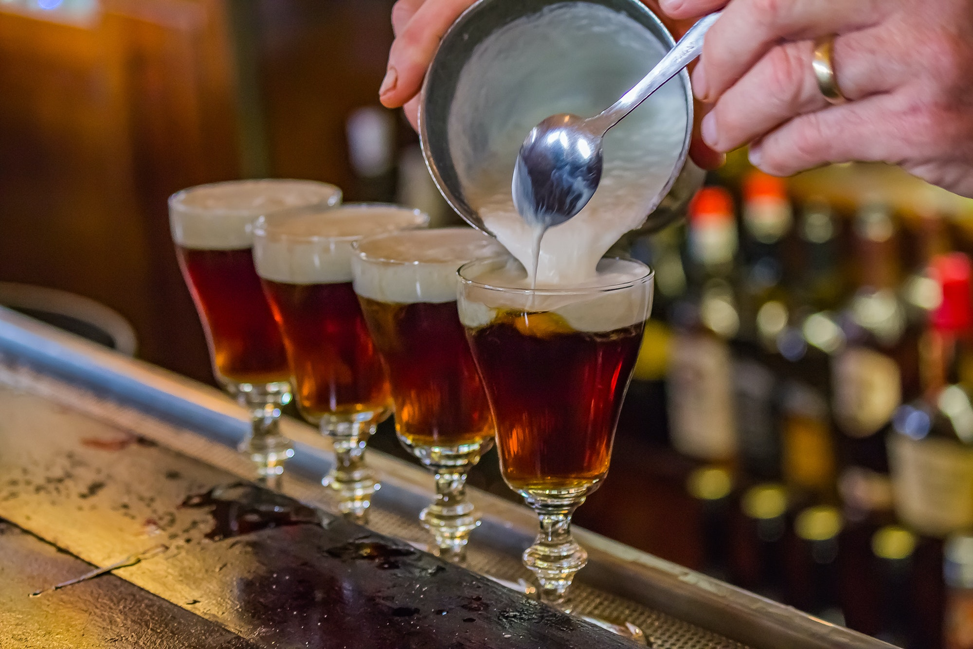 The Buena Vista in San Francisco is one of the many establishments outside of Ireland that claims to have the best Irish coffee.