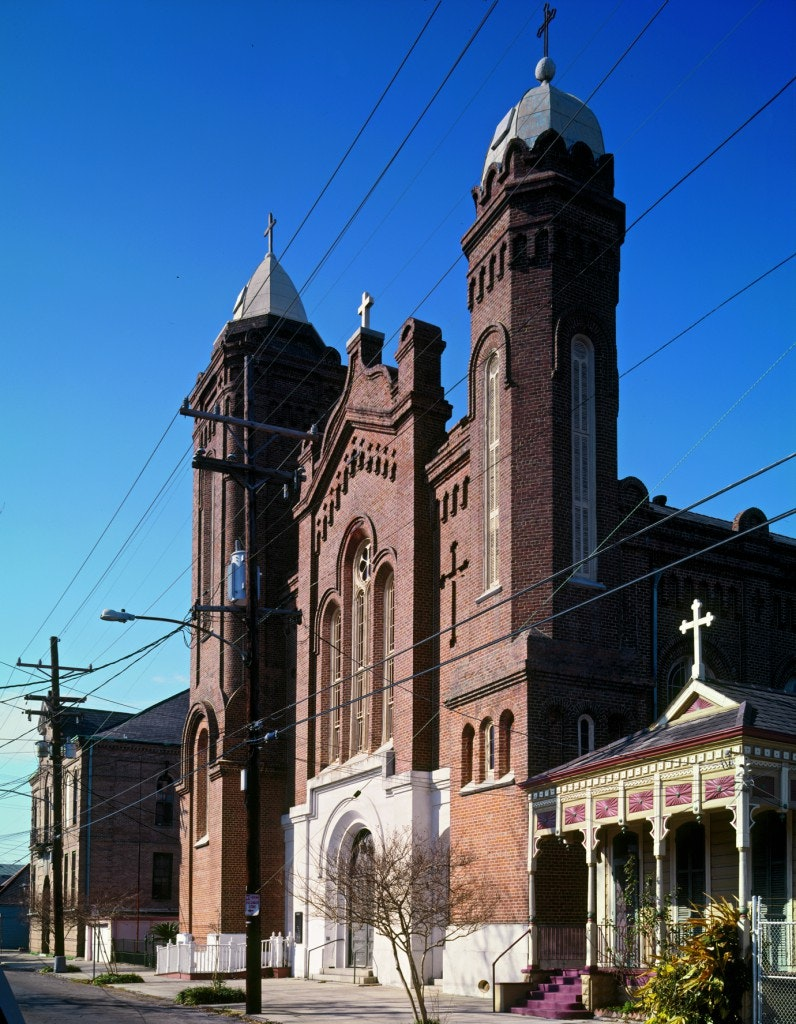 Saints Peter and Paul Church, New Orleans architecture