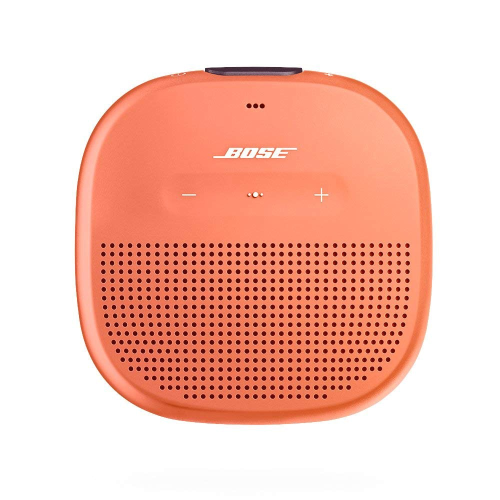 Portable speakers are easy to pack and great for group trips.