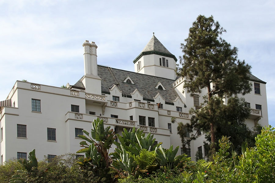 Chateau Marmont, a great place for a celebrity sighting