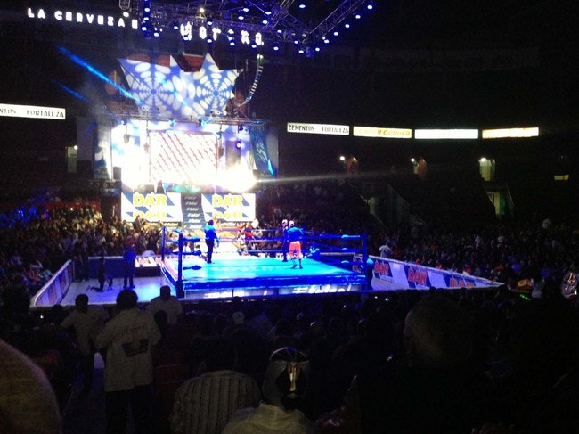 Go all in with some late-night Lucha Libre