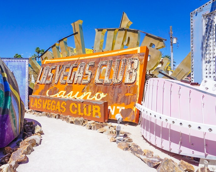TheNeon Boneyard—an open-air portion of the Las Vegas museum's property where old neon signs are preserved and displayed—appeared in a 1996 film by Burton.
