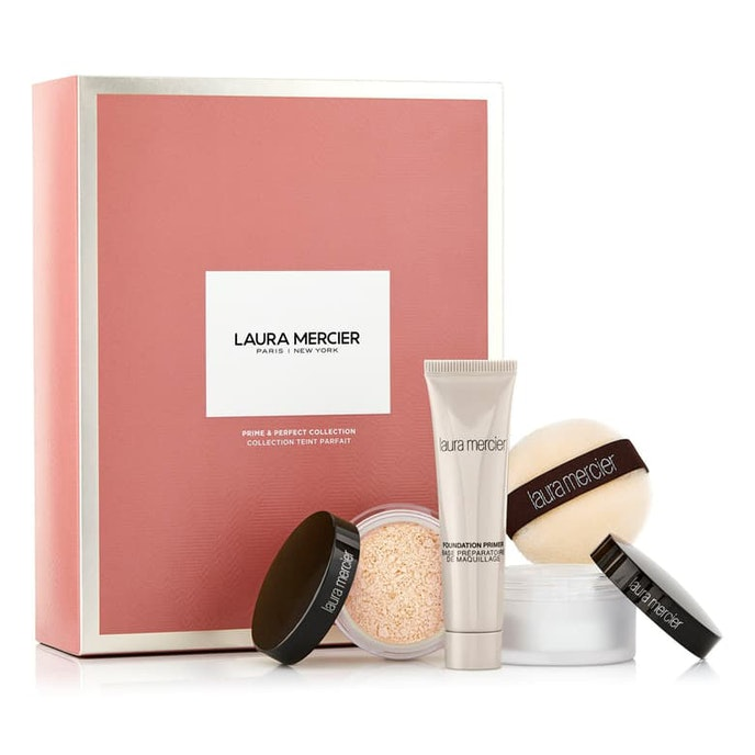 This Laura Mercier kit comes with three items to keep in your toiletry kit at all times.