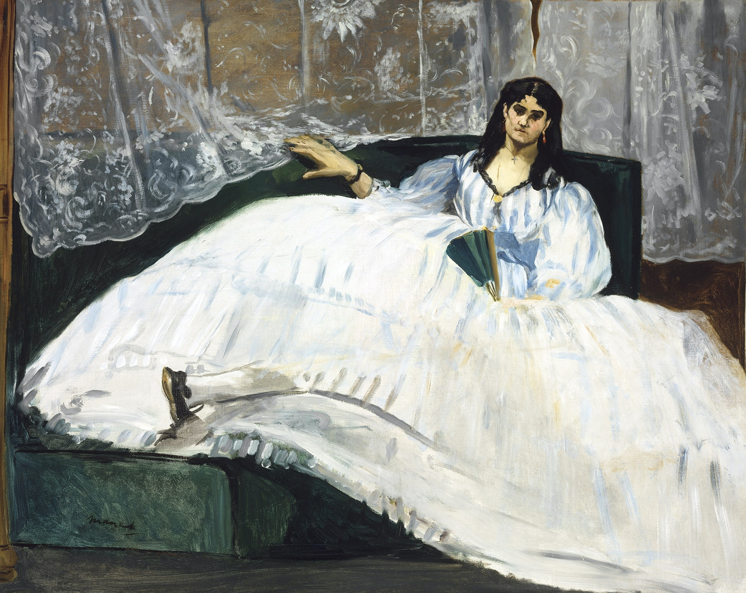 Edouard Manet's painting of Jeanne Duval, a Haitian-born actress and dancer